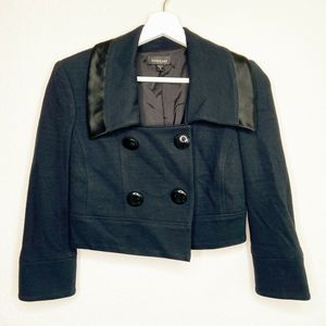 Bebe | Cropped Double Breasted Jacket